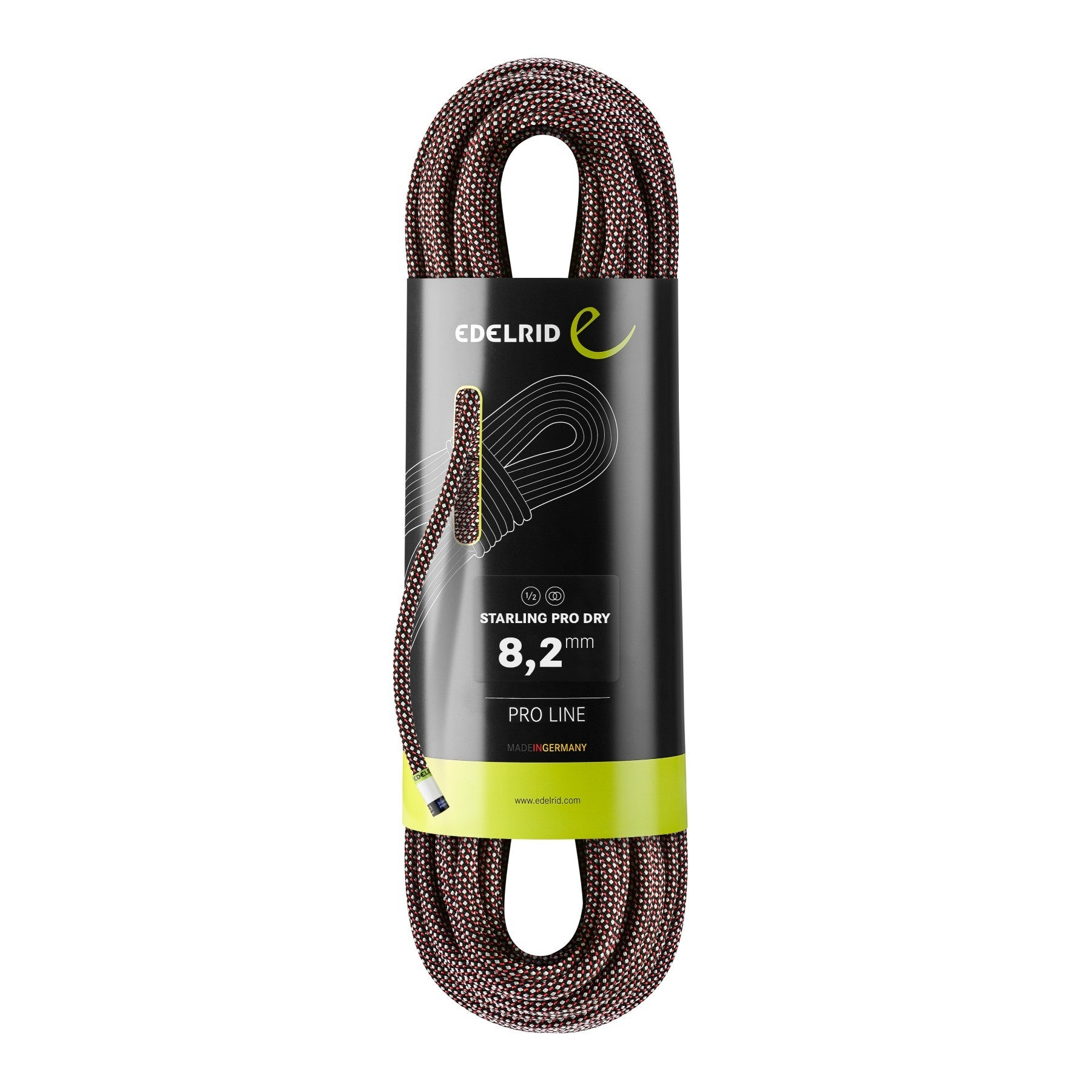 Edelrid Starling Pro Dry 8.2mm x 60m, Night