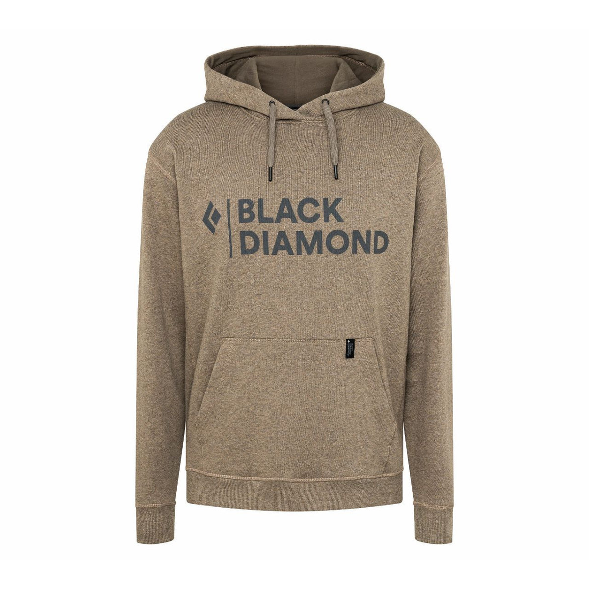 Black Diamond Stacked Logo Hoody