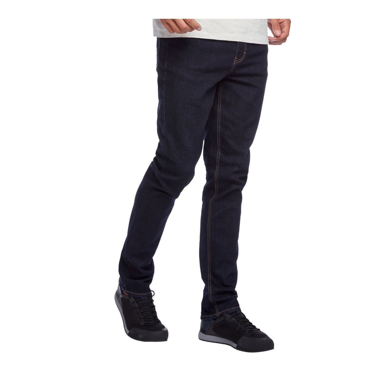 Black Diamond Crag Denim Pants in rinse