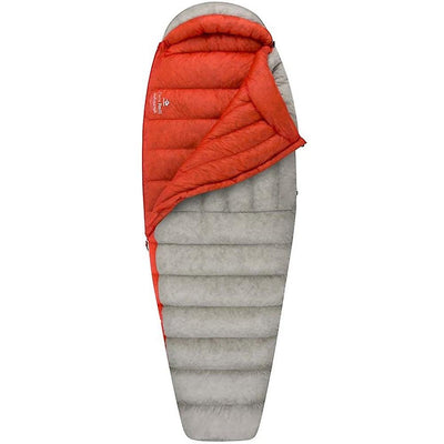 Sea to Summit Flame III Women's sleeping bag shown partially open