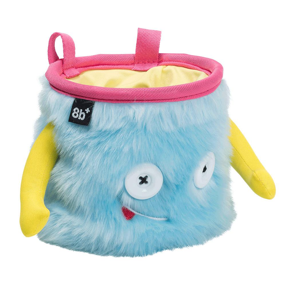 8BPlus Jamie Chalk Bag, front/side view in blue, yellow and pink colours