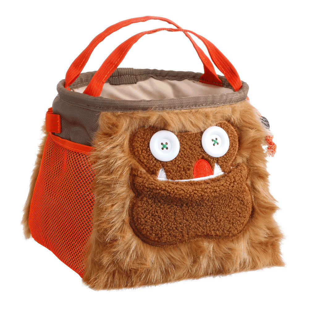 front/side view of 8BPlus Louie Boulder Bucket Monster Chalk Bag