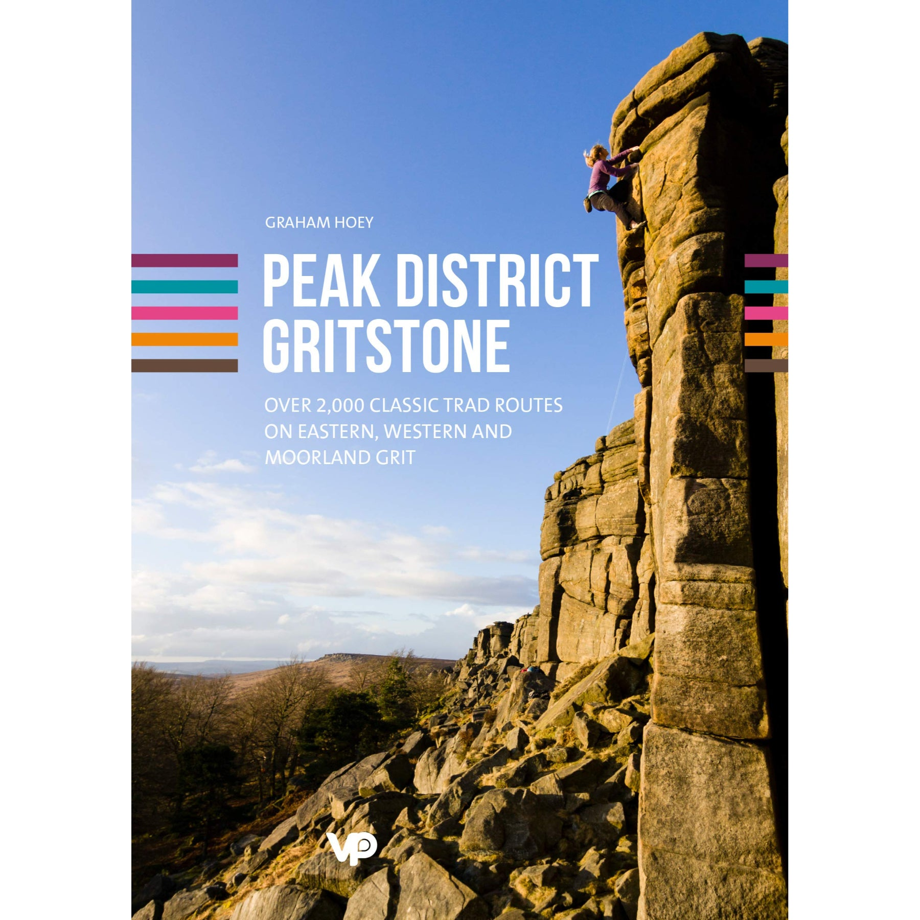 Peak District Gritstone Guide Book Cover 2021