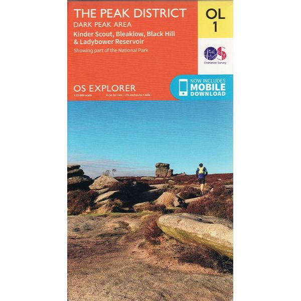 The Peak District - OS Explorer Map OL1
