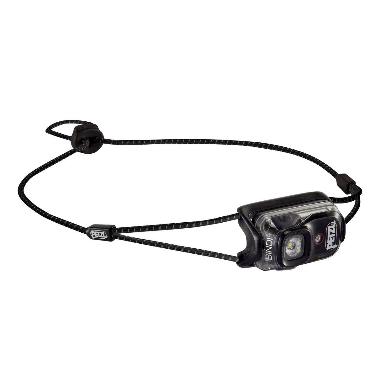 Petzl Bindi headlamp in Black colour with black strap