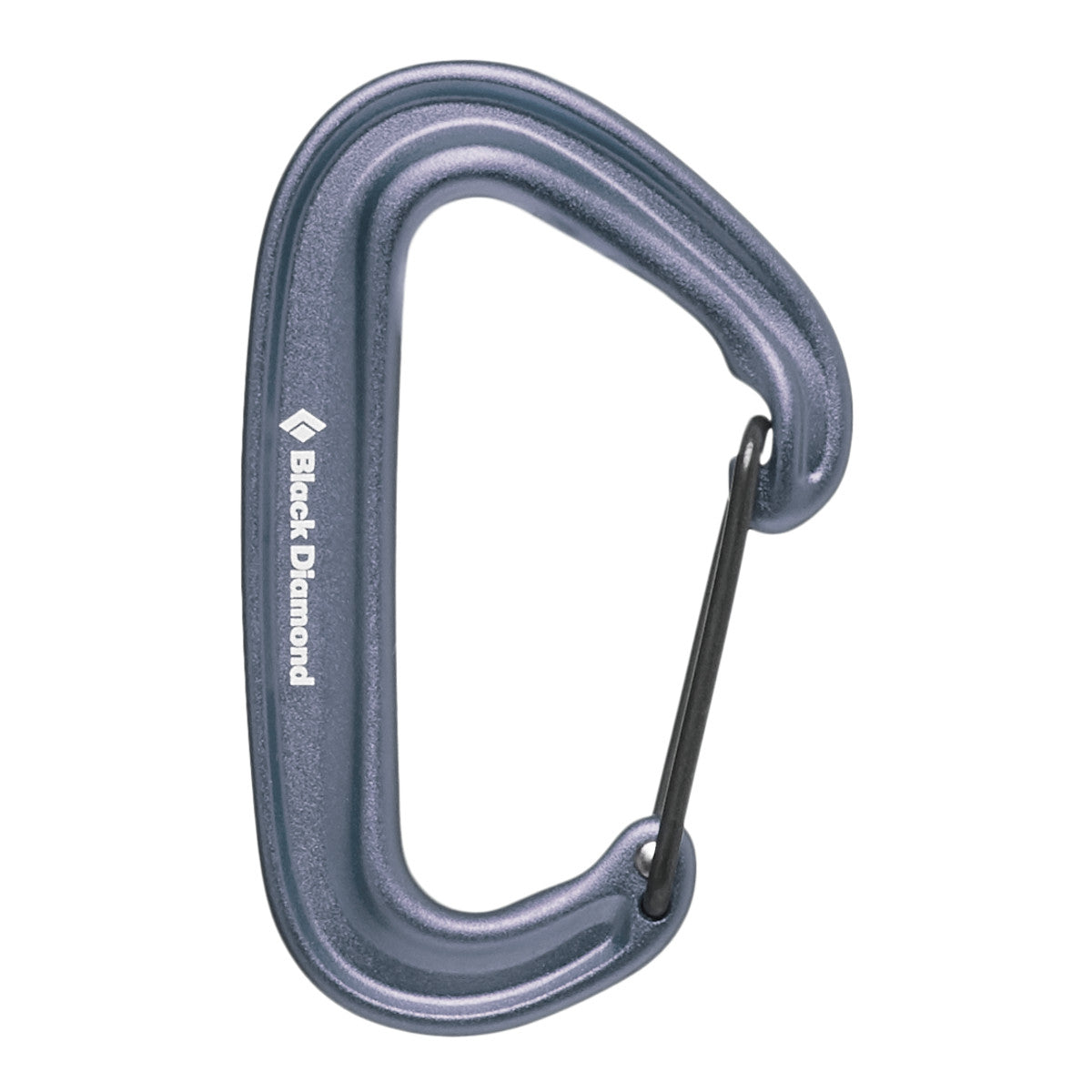 Black Diamond Miniwire Carabiner in Gray