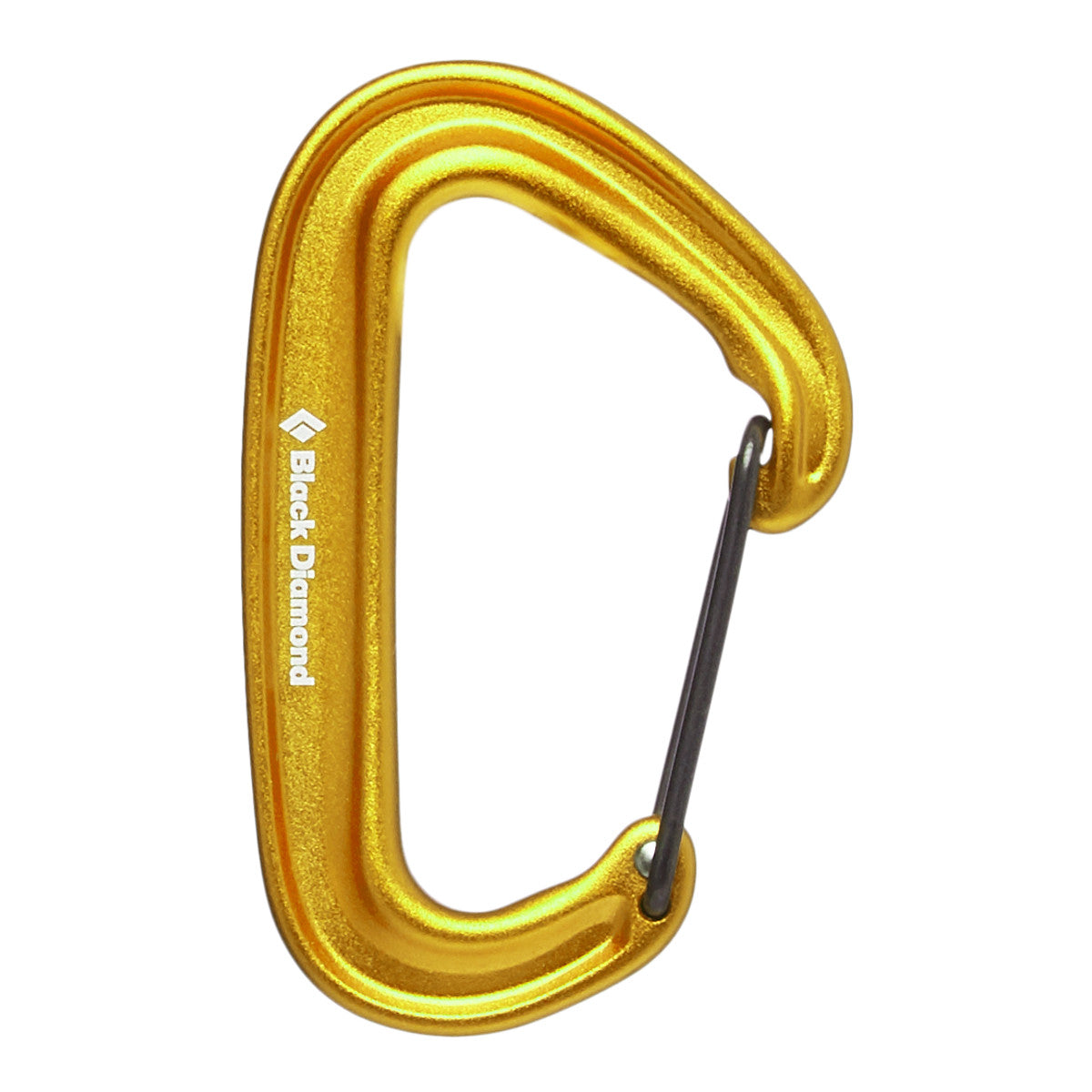 Black Diamond Miniwire Carabiner in Yellow