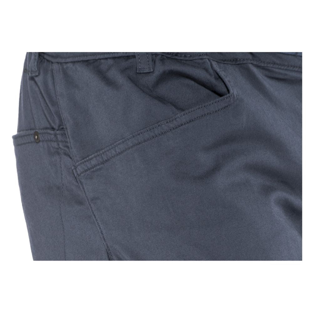 Black Diamond Credo Pants in captian dark blue pockets