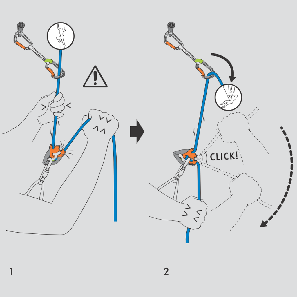 Climbing Technology Click Up Plus operating instructions