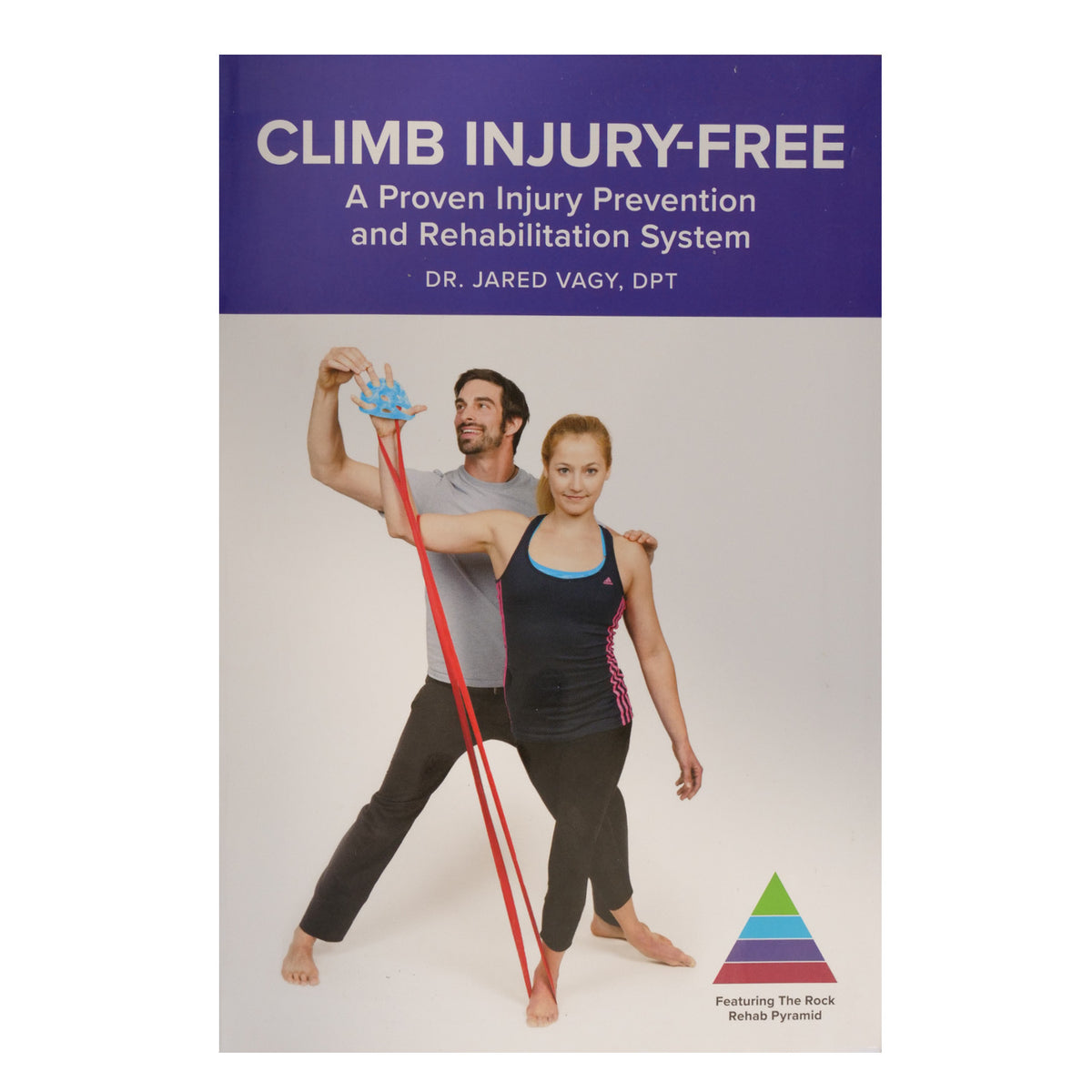 Climb Injury Free book, front cover