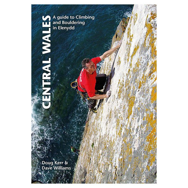 Central Wales climbing Guidebook, front Cover