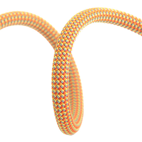 DMM Super Big Jim 10.5mm, climbing rope shown in orange colour