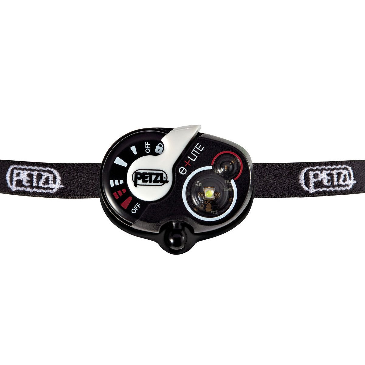 Petzl e+LITE Head torch, in black colour