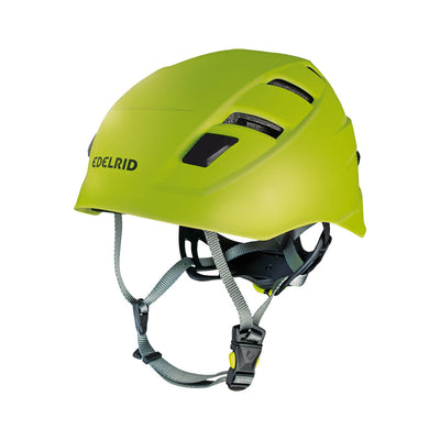 Edelrid Zodiac climbing helmet, in green colour
