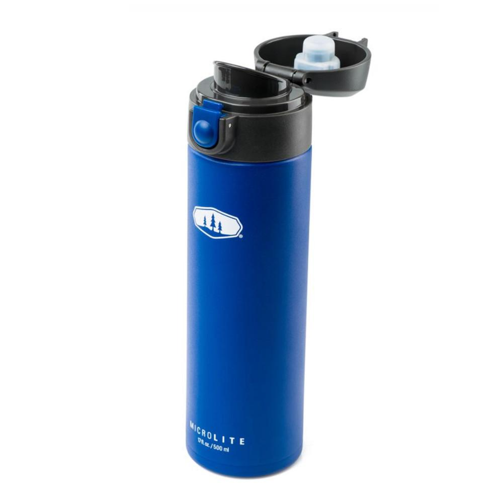 GSI Microlite 500 Flip in Blue with open lid