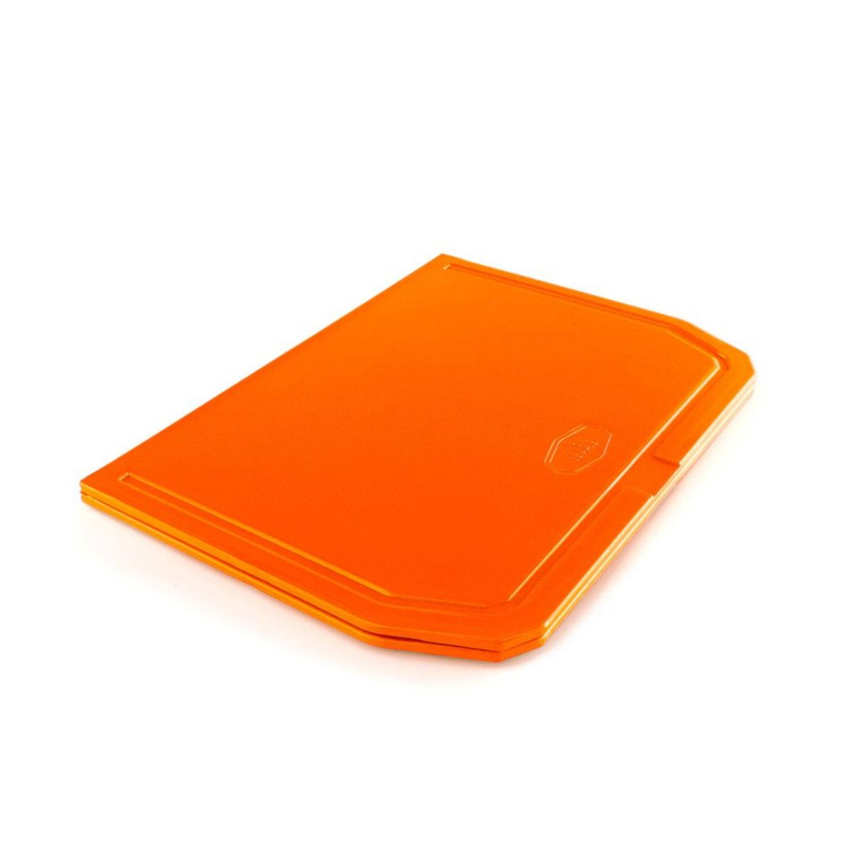 GSI Folding Cutting Board in Orange folded