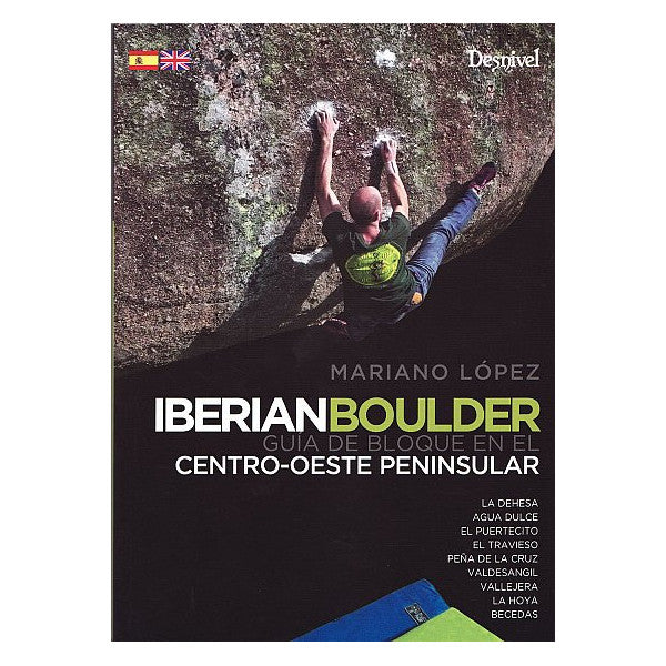 Iberian Boulder Climbing Guide Book Cover