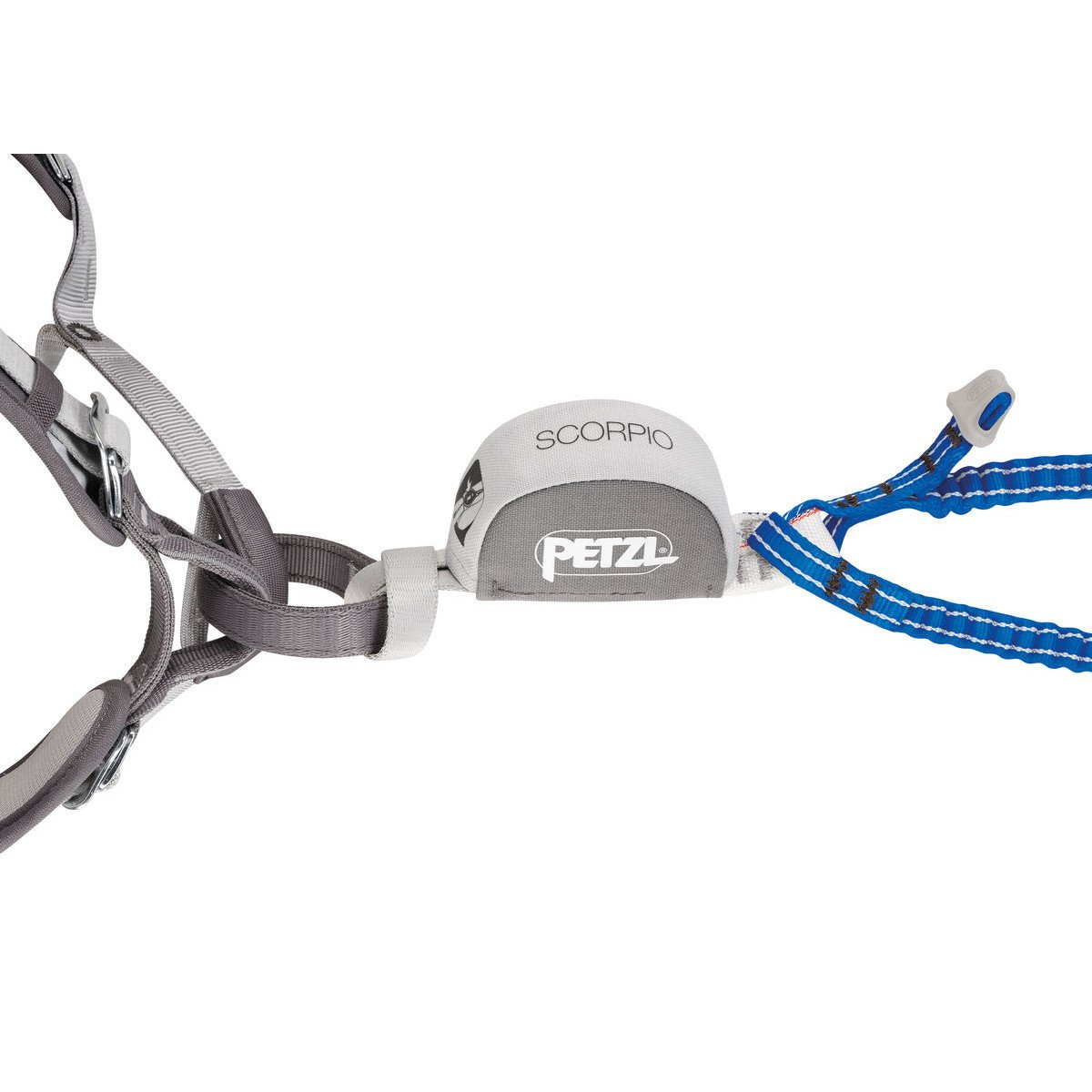 Petzl Scorpio Vertigo, shown on harness