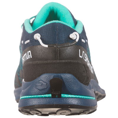 La Sportiva Tx2 Womens approach shoe, heel view