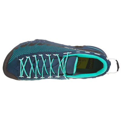 La Sportiva Tx2 Womens approach shoe, view from above