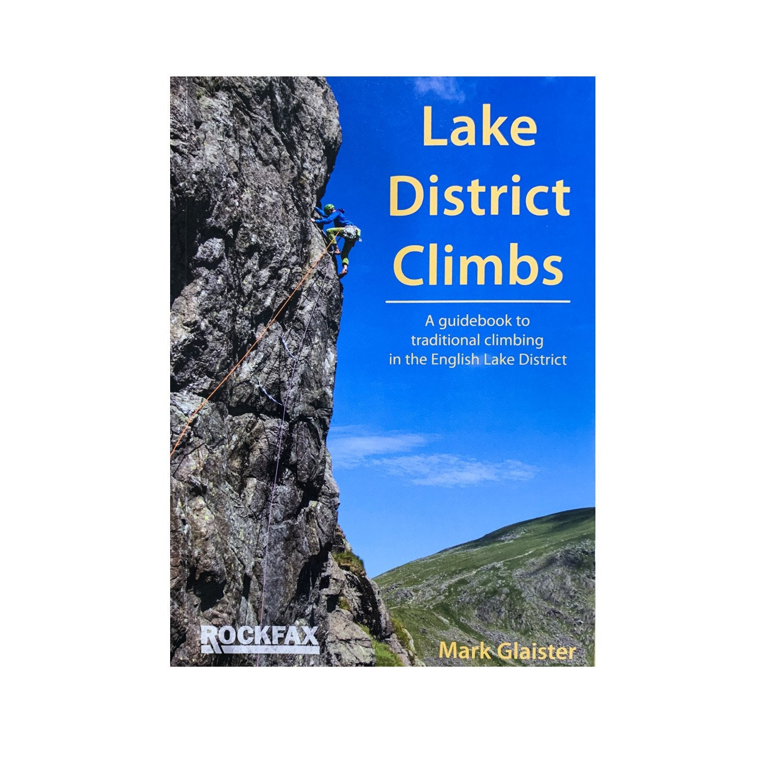 Lake District Climbs (RockFax) Front cover