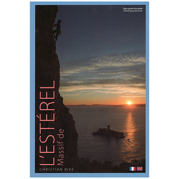 Massif de L'Esterel Climbing Guide, showing the Book Cover