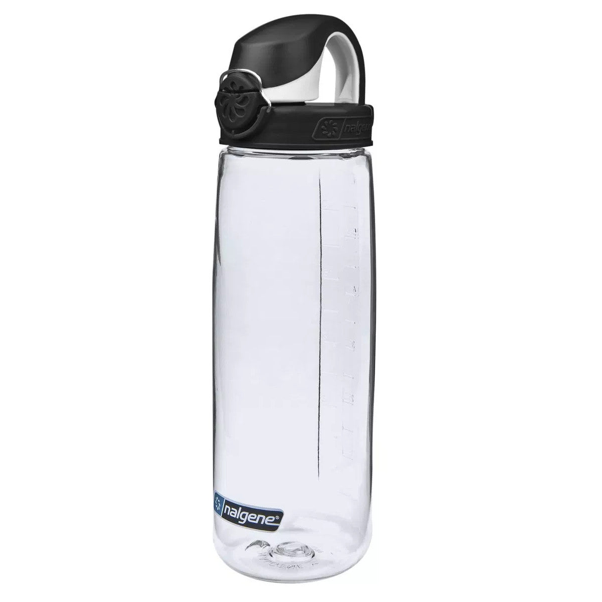 Nalgene OTF 700ml Bottle, with clear bottle and black lid top