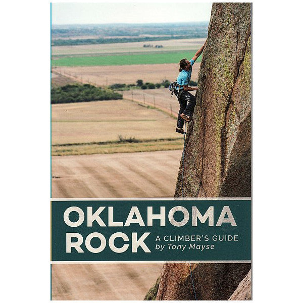 Oklahoma Rock Climbing Guidebook Cover