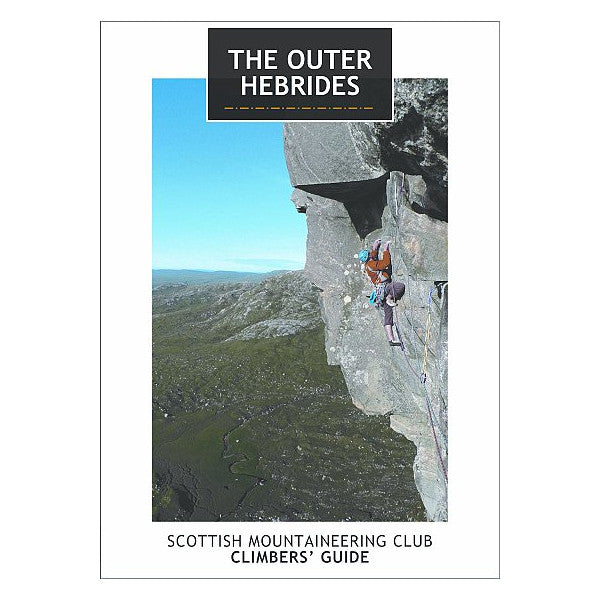 The Outer Hebrides climbing guide book cover