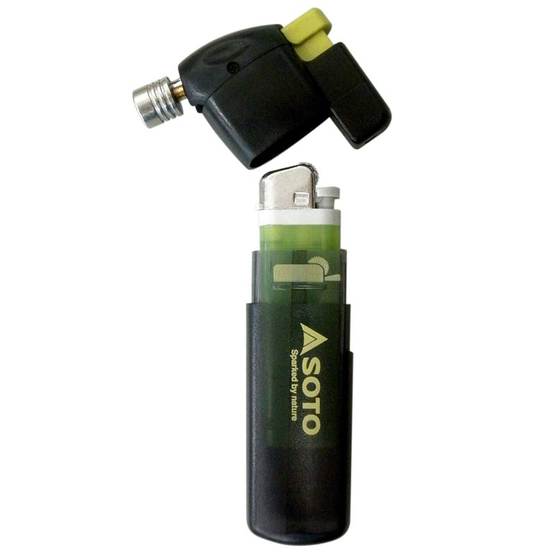 SOTO Pocket Torch, showing the two parts disconected