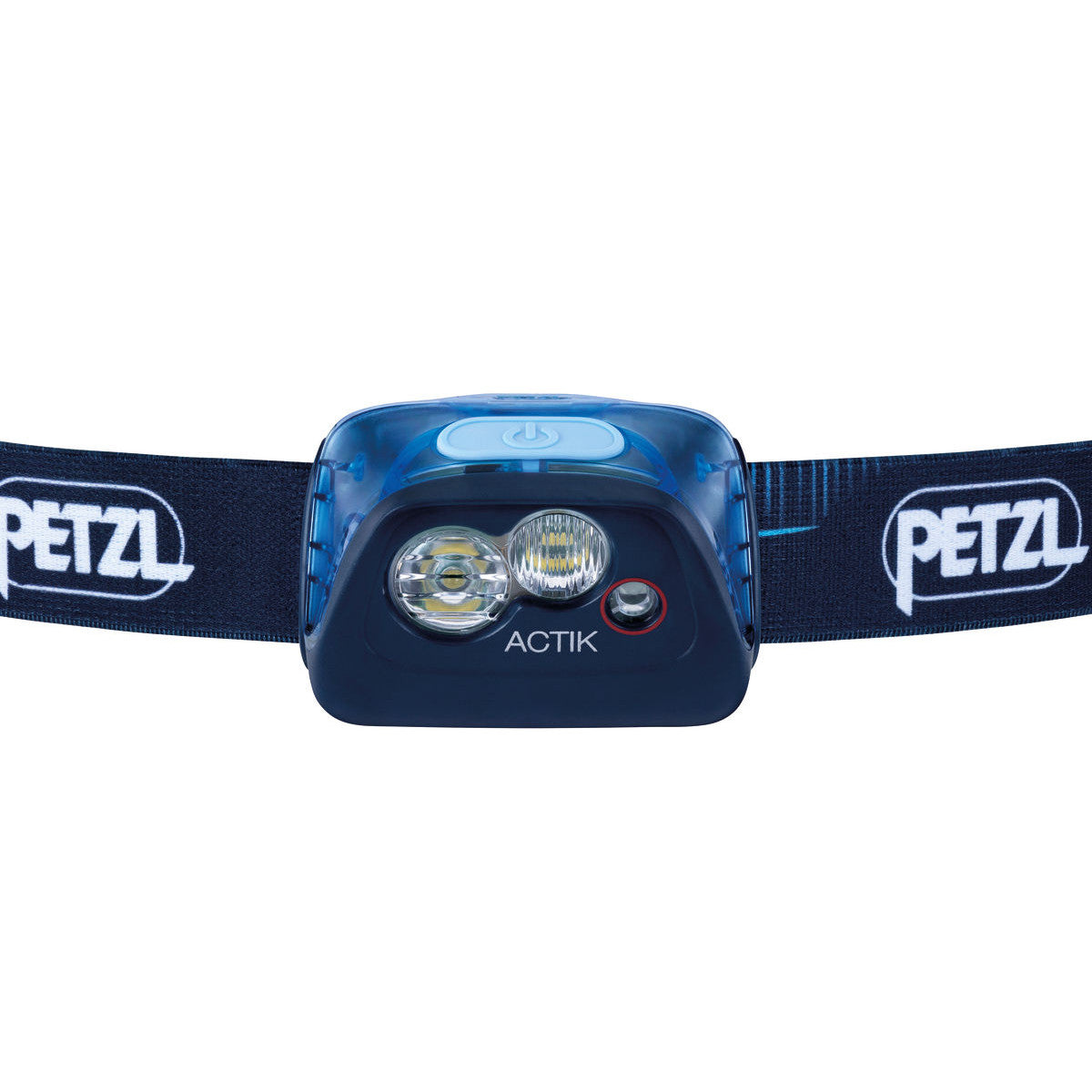 front view of the Petzl Actik Headtorch