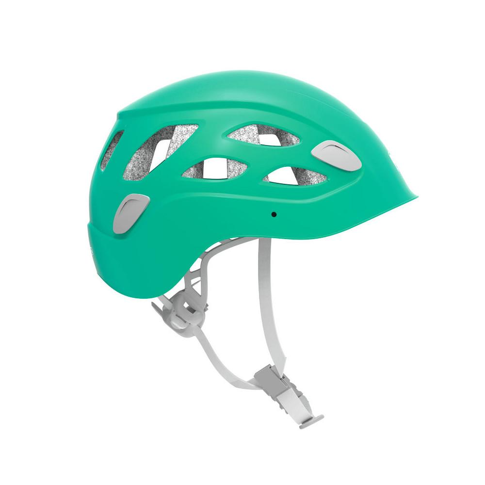 Petzl Borea helmet, outer/side view shown in Green