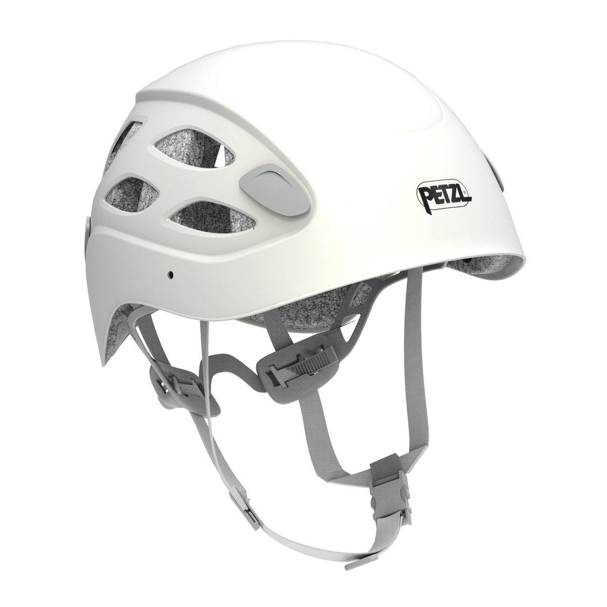 Petzl Borea multi-sport helmet, front/side view in white colour