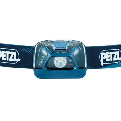 Front view Petzl Tikka in Blue