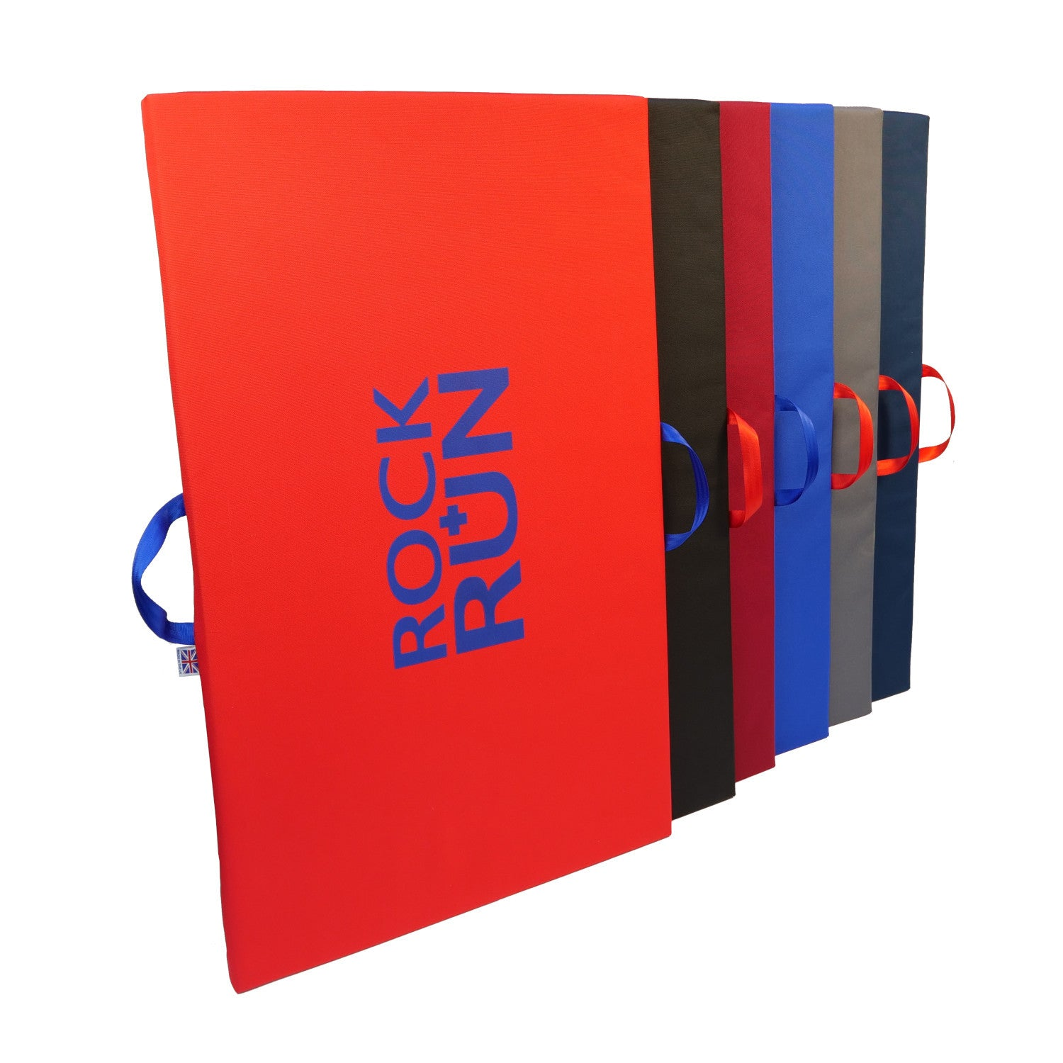 Rock + Run Showdown Pad, in all colours stacked up