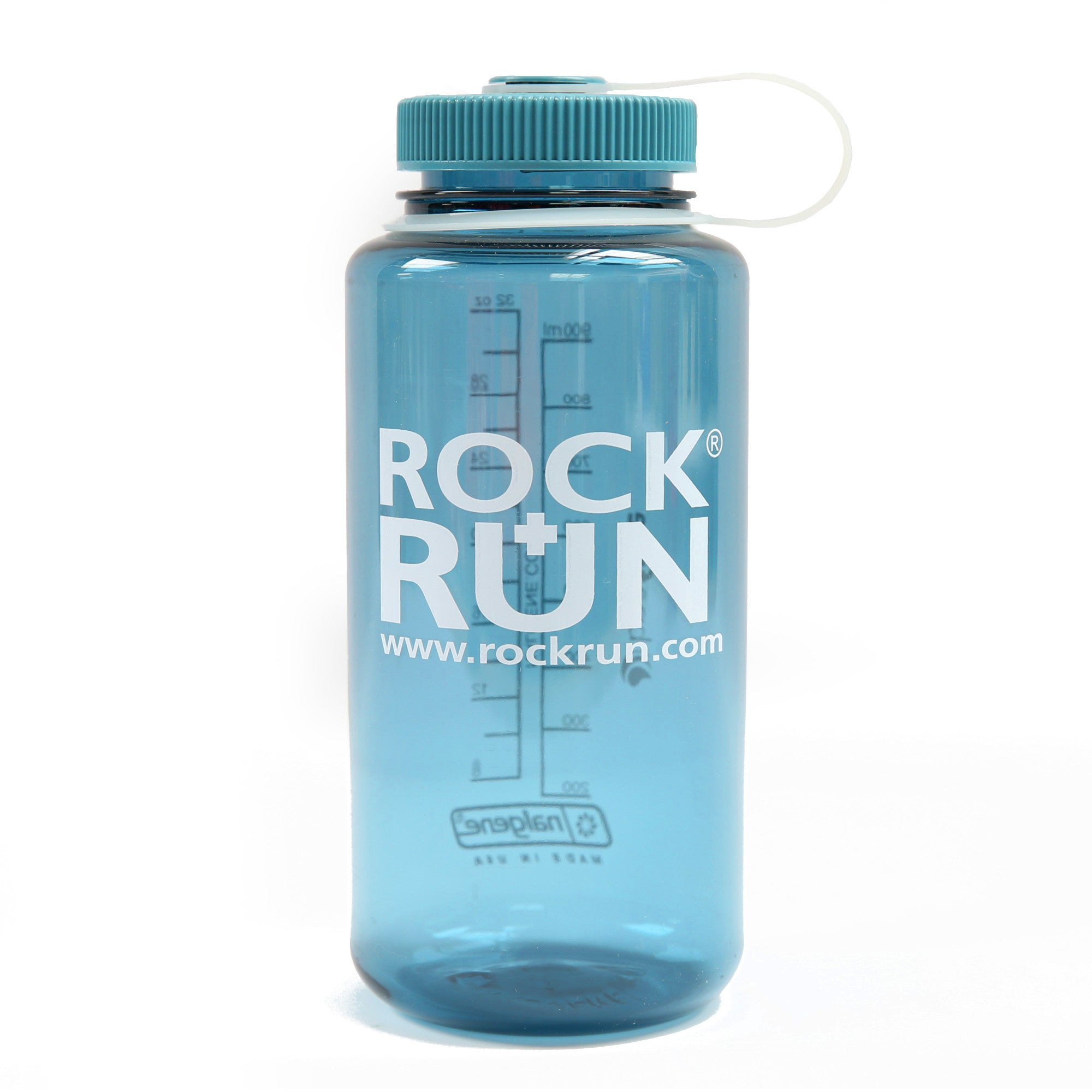R+R Nalgene Wide Mouth 1 Litre (Cadet Blue)