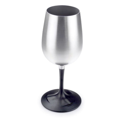 GSI Stainless Nesting Wine Glass x 6 Stood up overview