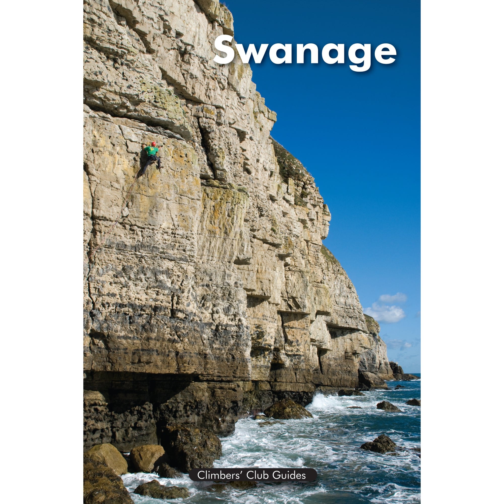 Swanage climbing guidebook, showing front cover