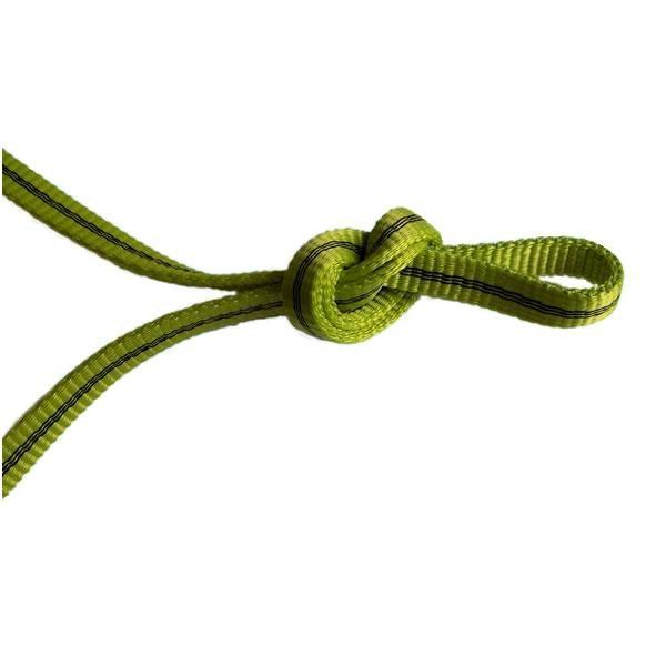 Edelrid Tech Web 12mm climbing cord, in green colour