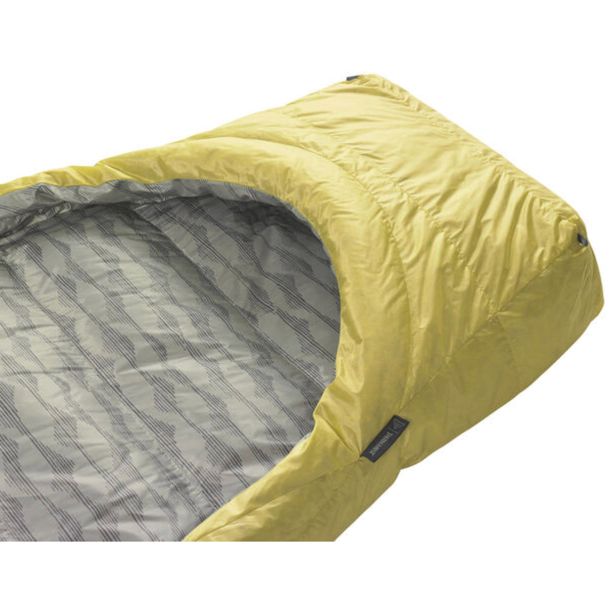 Thermarest Corus 32F/0C Showing foot pocket