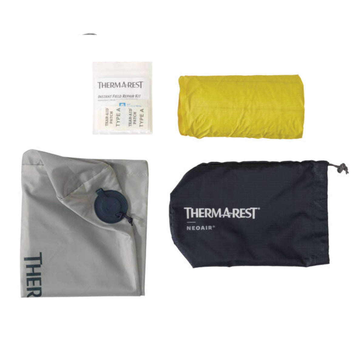 Thermarest NeoAir XLite individual items from pack