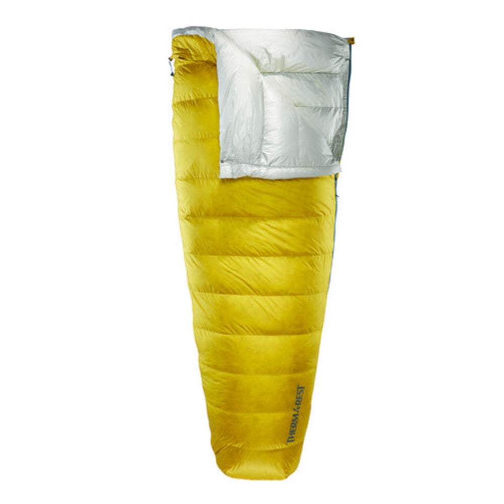 Thermarest Ohm 32 UL sleeping bag in yellow