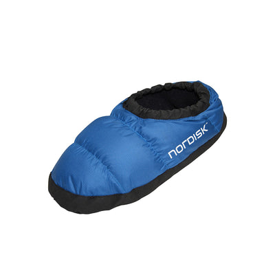 Nordisk Mos Down Slipper, in blue colour