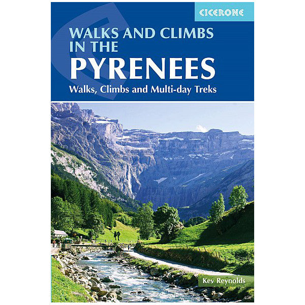 Walks and Climbs in the Pyrenees guidebook, front cover