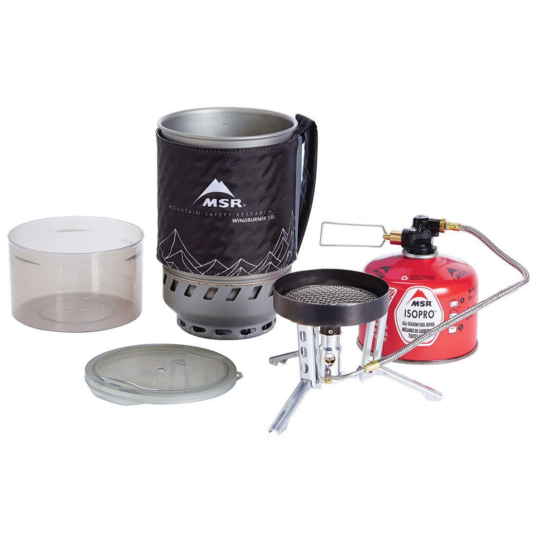 MSR WindBurner 1.8L Duo Camping Stove System