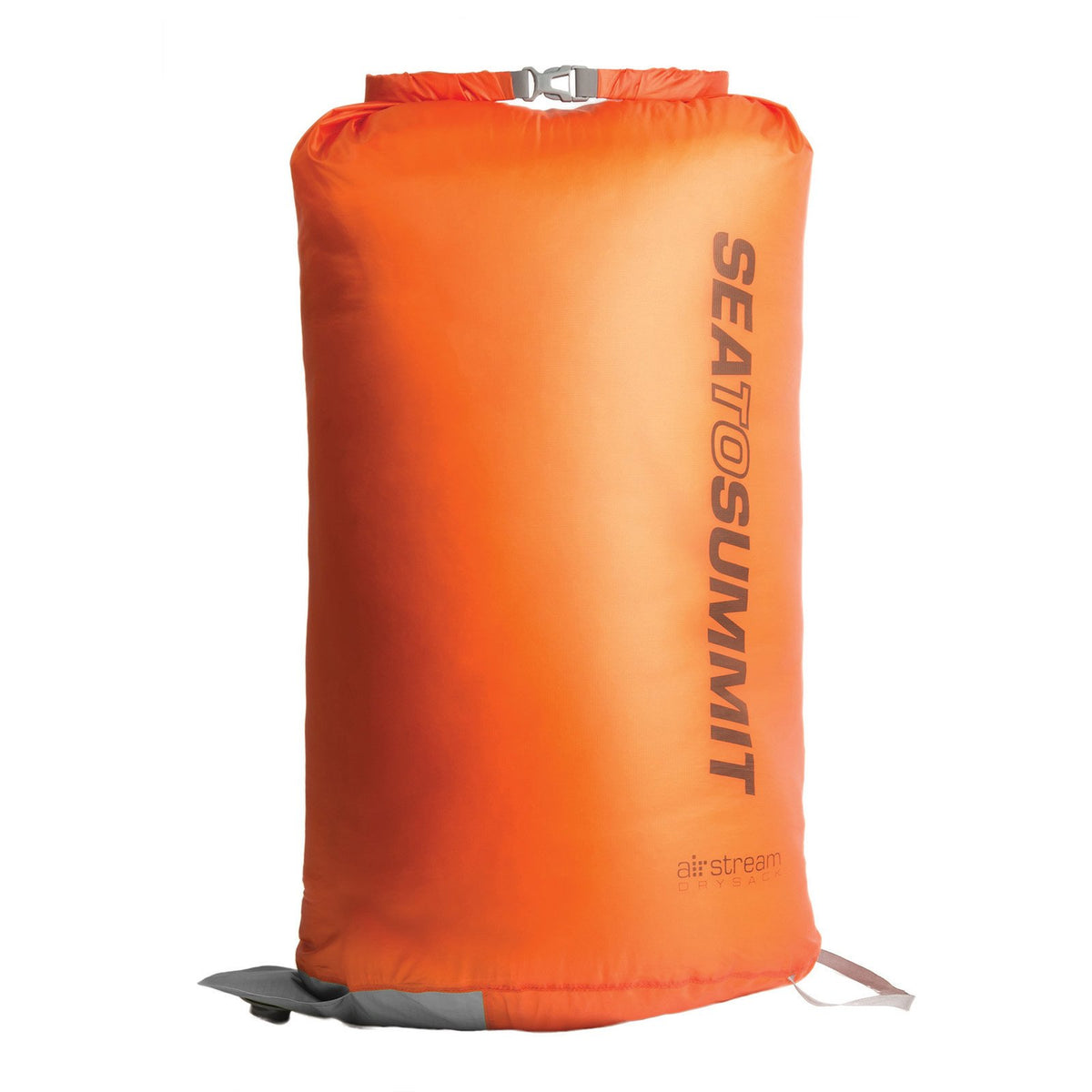 Sea to Summit Air Stream Pump Sack 20l, front view in orange colour
