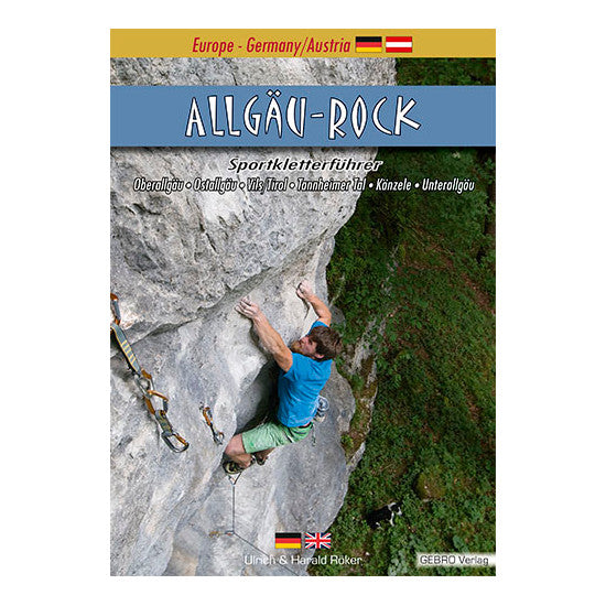 Allgau Rock climbing guide, front cover