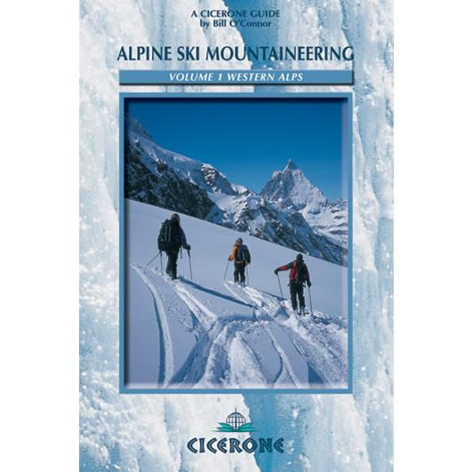 Alpine Ski Mountaineering Vol 1 Western Alps guidebook, front cover