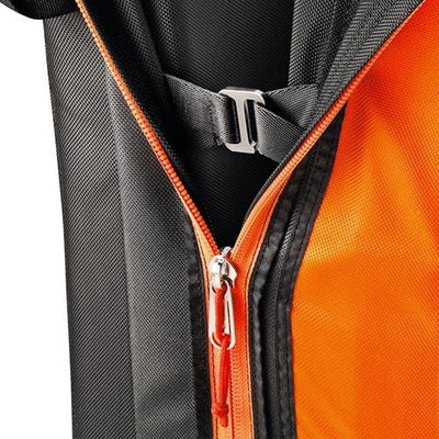 Petzl Cirro bouldering crash pad, zip detail