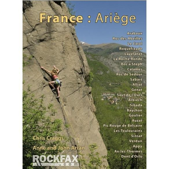 France: Ariege climbing guidebook, front cover